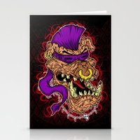 bebop Stationery Cards featuring Bebop is infected! by DesecrateART (Infected)