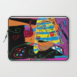 Peace and Art in Modernity Laptop Sleeve