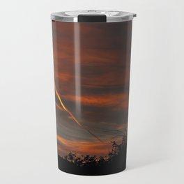Pensive Sunrise Travel Mug