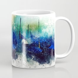 Venice Gondola painting Coffee Mug