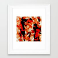 mom Framed Art Prints featuring Mom by Vibrance MMN