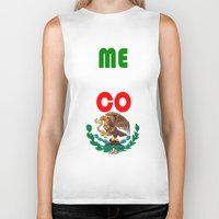 mexico Biker Tanks featuring Mexico  by RDsix3