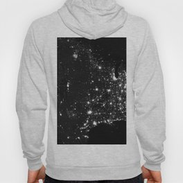 The Lights of the USA (Black and White) Hoody