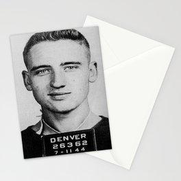 Neal Cassady Mug Shot (Front) Stationery Cards