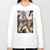 resident evil Long Sleeve T-shirts featuring Resident Evil 4 by Max Grecke