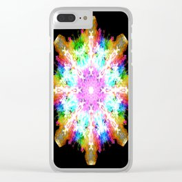 splash flake Clear iPhone Case