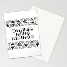 Triangles Saying 1 Stationery Cards