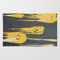 transformers Area & Throw Rugs featuring Transformers by Maddy Knuth