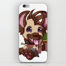 Happy Hyena iPhone Skin