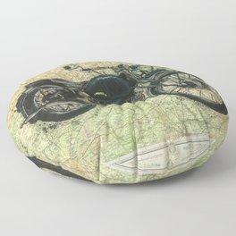 Vincent Comet - We were never born to follow Floor Pillow