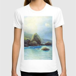 Coast Of The Sea 1899 By Lev Lagorio | Reproduction | Russian Romanticism Painter T-shirt