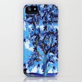 Plum Tree Hills iPhone Case