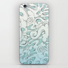 Entangled Clouds iPhone Skin