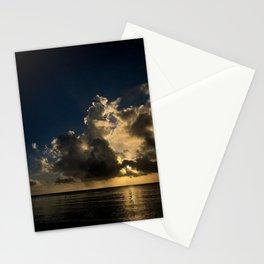 Sunset reflection Stationery Cards
