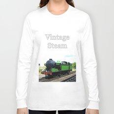 Vintage Steam railway engine Long Sleeve T-shirt