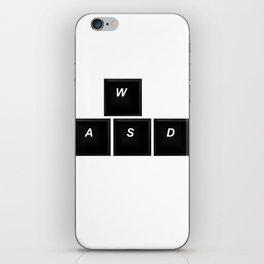 wasd iPhone Skin