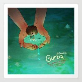 Gurfa Art Print