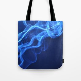 smoky blue Tote Bag