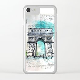 1895 Clear iPhone Case