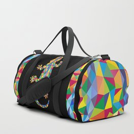 Vivid Barcelona City Lizard Duffle Bag