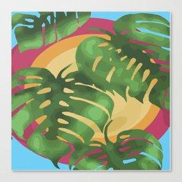 Tropical splendour Canvas Print