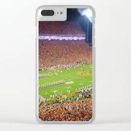 Clemson Memorial Stadium Clear iPhone Case