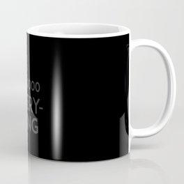 All #000000 Everything Coffee Mug