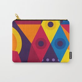 Abstract modern geometric background. Composition 16 Carry-All Pouch