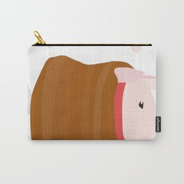 Poogies Are Friends, Not Food Carry-All Pouch