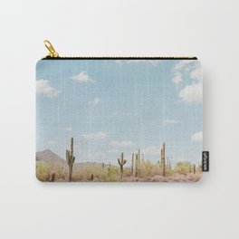 Saguaros in the Desert Carry-All Pouch