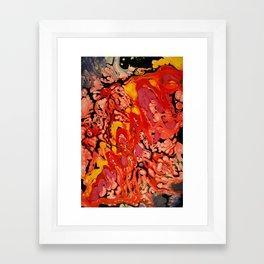 Toboggan Framed Art Print