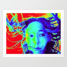 Thermal ME Art Print