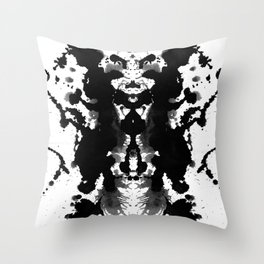 Classy Ink Throw Pillow