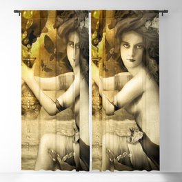 The Blessed Temperance, Gold Blackout Curtain