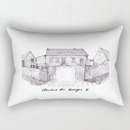 Kelly's House Rectangular Pillow
