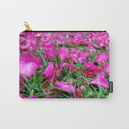 Petals in the Grass Carry-All Pouch