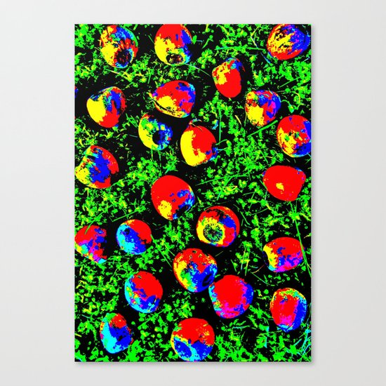 Colorful Nuts Canvas Print