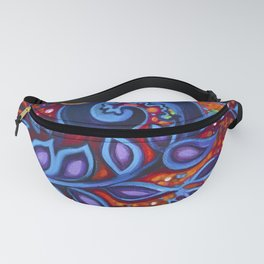 When Vision and Sight Unite by Laura Zollar Fanny Pack