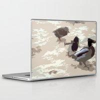 ducks Laptop & iPad Skins featuring Ducks by Kimberley Shaw