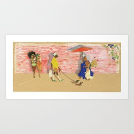 Where Are We Going? Art Print
