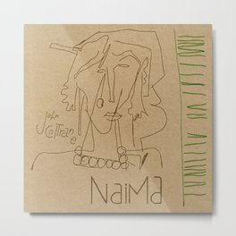Naima Metal Print
