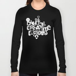 Digital Creative Curious by Extraverage Long Sleeve T-shirt