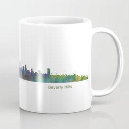 Beverly Hills City in LA City Skyline HQ v1 Coffee Mug