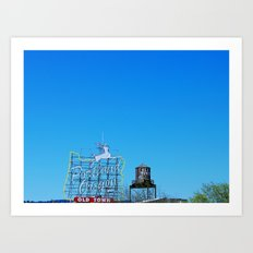 Portland Sky Art Print