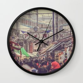 WILD JAPAN 02 Wall Clock