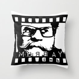 Fierce Stare Throw Pillow