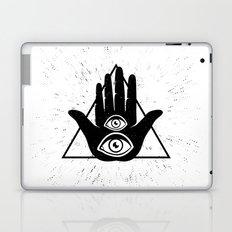 Hand with eye Laptop & iPad Skin