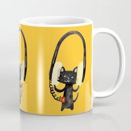 I Love Huge Headphone Coffee Mug