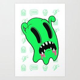 Ghosting Art Print