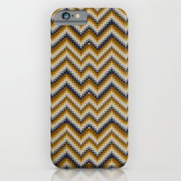 Patchwork Colours - sand iPhone Case